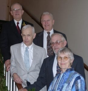 The Crooke family, of which Art and Daisy thrive at Pennswood Vilage