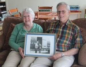 Caroline and David Swain, whose father was the first resident to move into Pennswood Village in 1980, shows how deep the community's family ties are.