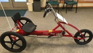 This recumbent tricycle is one of the newest ways our residents can boost their physical wellness at Pennswood Village.
