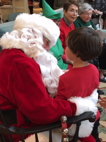 The holidays at Pennswood Village include all kinds of celebrations, from Hanukkah to Christmas to New Year's and more.